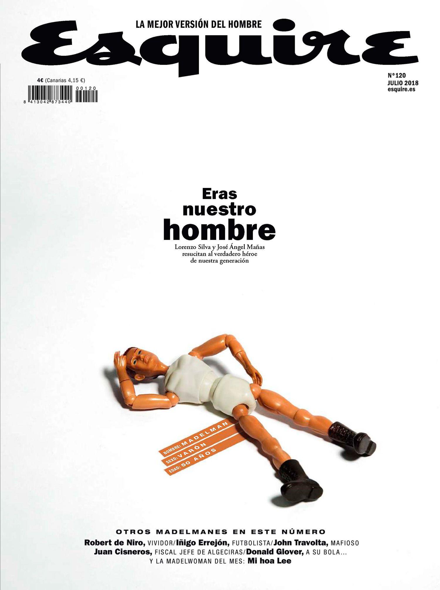 esquire julio 2018 portada