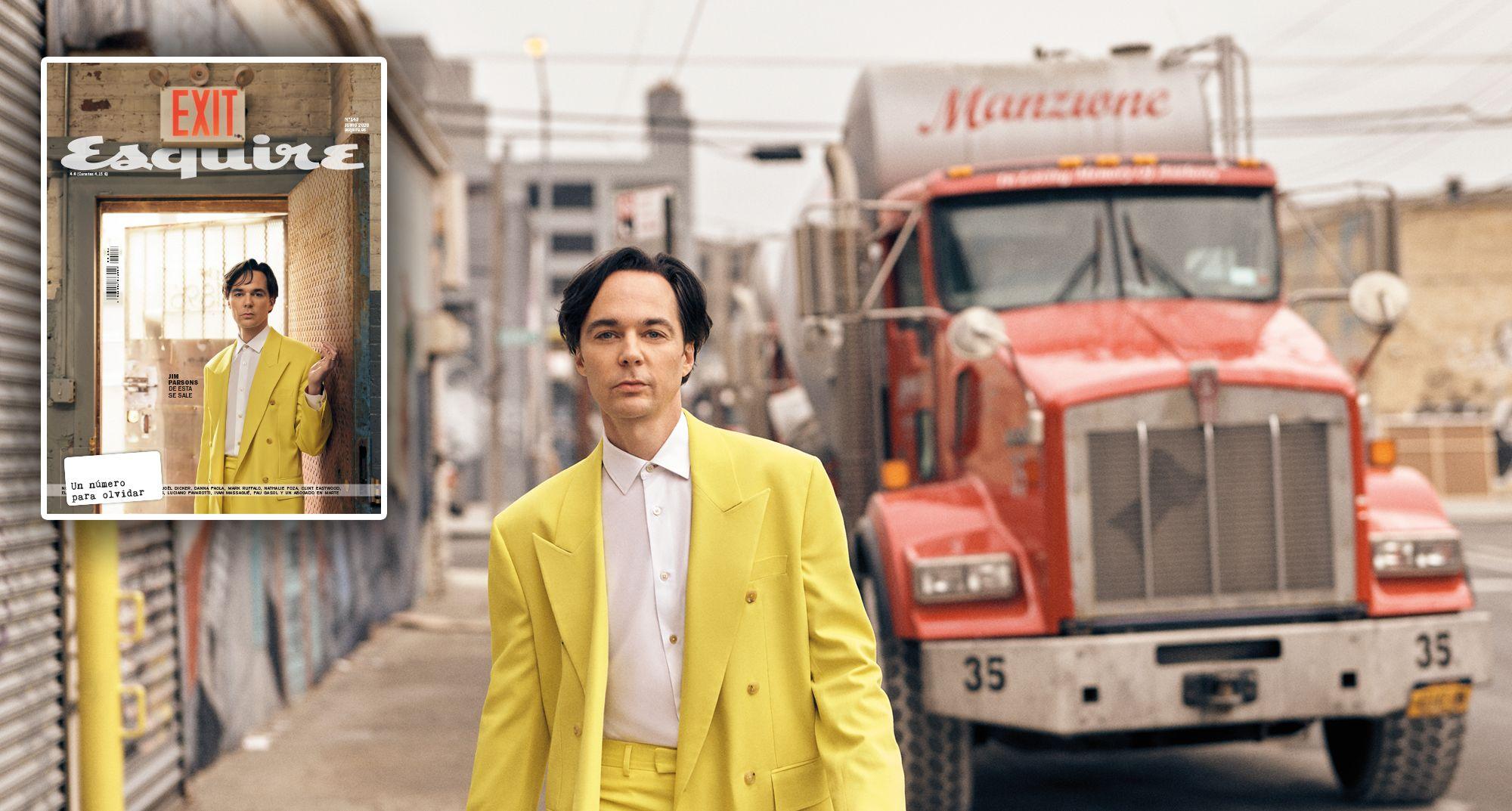 Esquire junio: La importancia de llamarse Jim Parsons