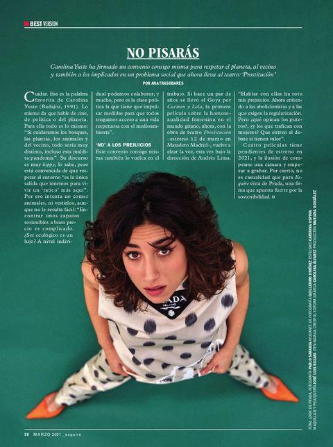 『エスクァイア』スペイン版,最新号,ファッション特集号,俳優,アルバロ・モルテ,Álvaro morte,