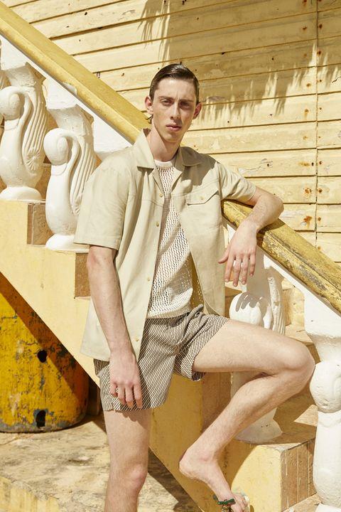 Moda de verano para hombre en el Caribe