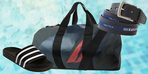 Bag, Handbag, Blue, Fashion accessory, Duffel bag, Hand luggage, Luggage and bags, Diaper bag, Baggage, Tote bag,