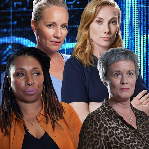 Essie DI Lucca,Jac Naylor, Max McGerry, Serena Campbell, Holby City