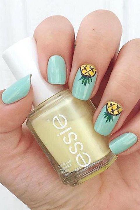 25 Cute Summer Nail Designs for 2018 - Best Summer Manicure Ideas