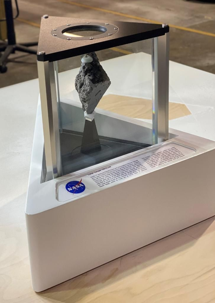 The Story of the Moon Rock in Joe Biden's Oval Office