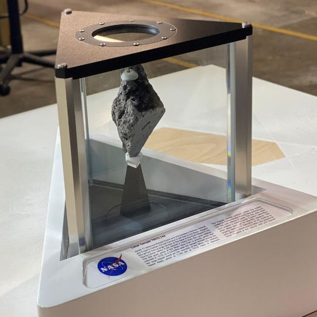nasa moon rock in the oval office