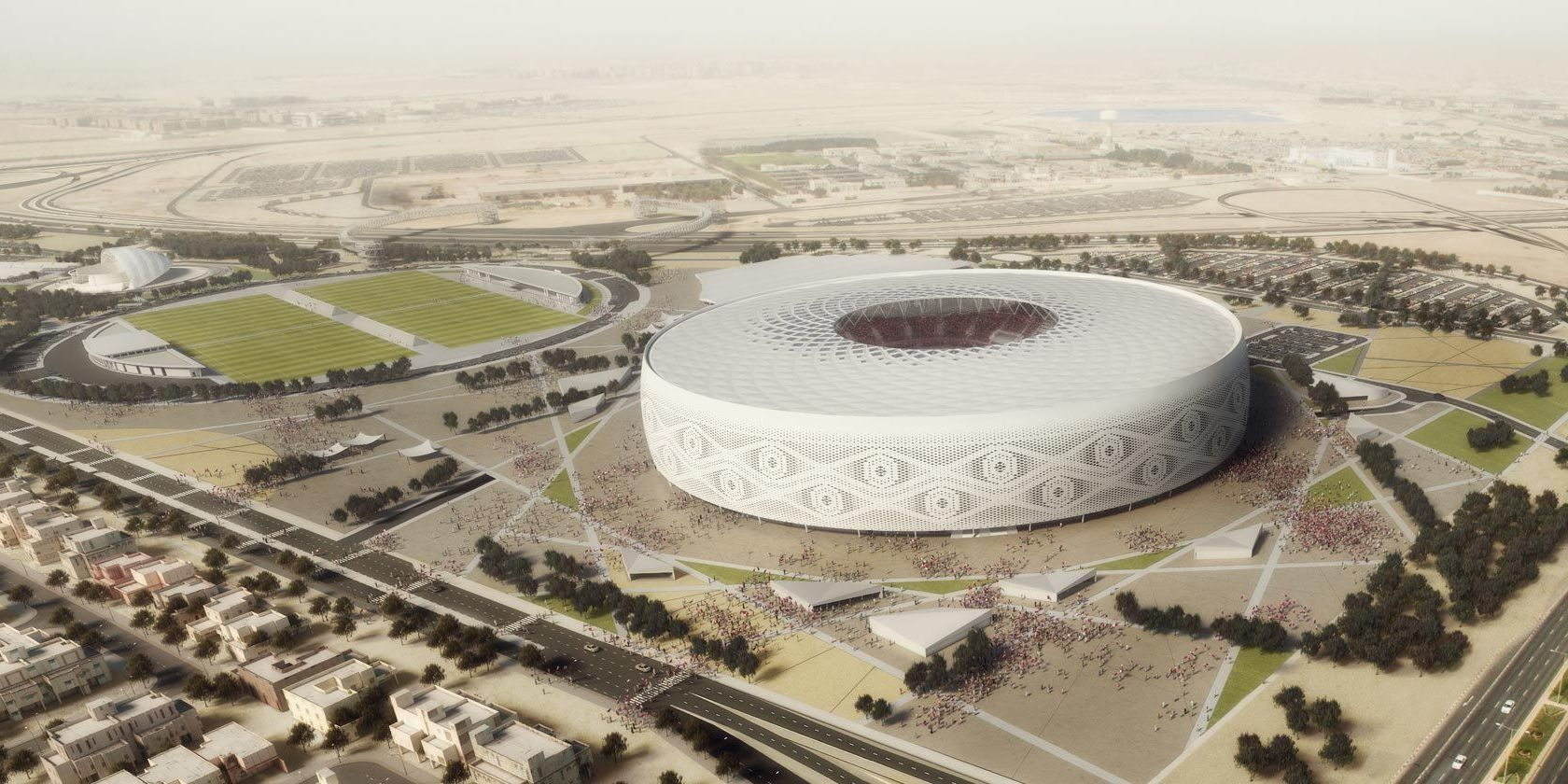 3 estadios del mundial de Qatar tienen sello 'made in spain'