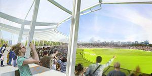nuevo estadio vallehermoso