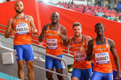 Estafette team mannen doha 2019 wk atletiek