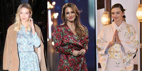 a4342735a El vestido más floreado de Paula Echevarría - Paula Echevarría ...