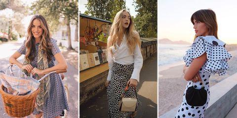 f8383d622 Estampado de lunares de verano 2019: cómo llevarlo con estilo