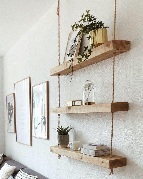 estantería madera eco