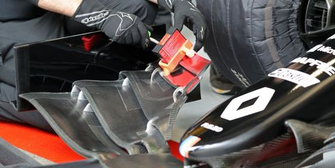 f1 winter testing in barcelona day three