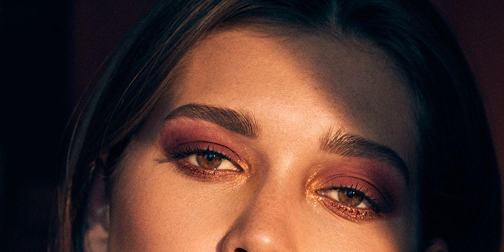 Estee Lauder Violette La Dangerous collection make-up look