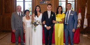 Estefanía de Mónaco, Louis Ducruet y Marie Chevallier, Estefanía de Mónaco hijos, Louis Ducruet y Marie Chevallier boda, Estefanía de Mónaco look
