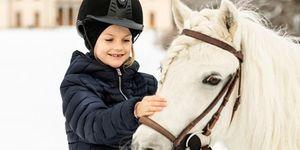 Daniel de Suecia, Estela de Suecia, princesa Victoria, Estela de Suecia celebra su séptimo cumpleaños, Estela de Suecia celebra su séptimo cumpleaños, La primera nieta de  los Reyes de Suecia cumple siete añitos
