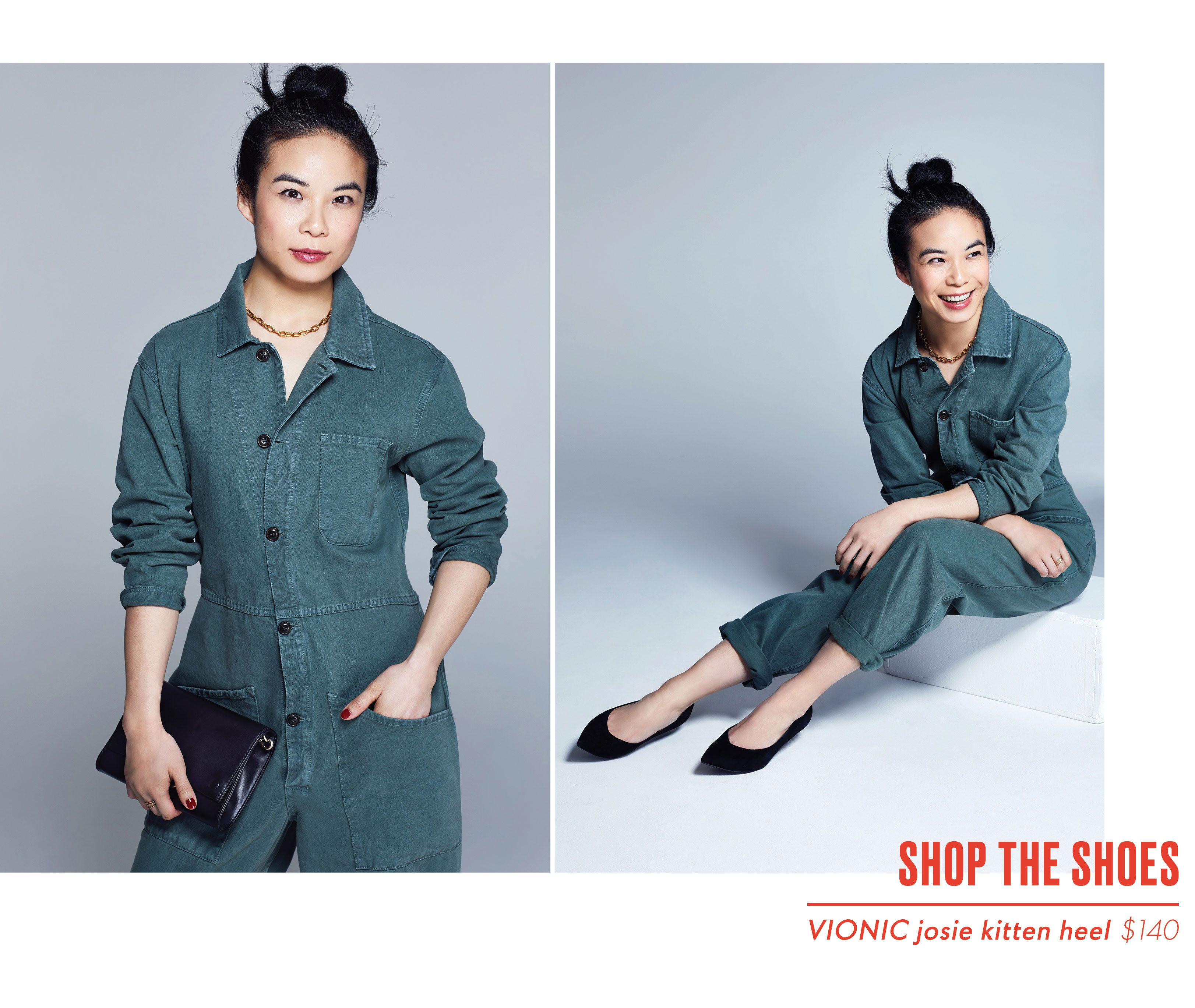Estelle Tang Editor Style - Vionic Shoes