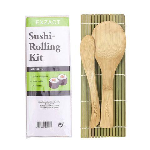 Esterilla de bambú para enrollar Sushi