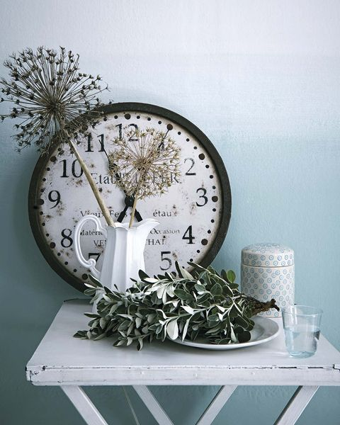 estilo country reloj de pared retro