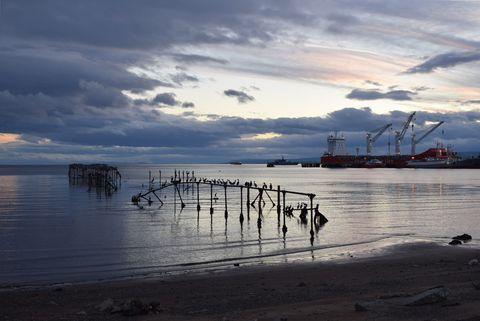 Estrecho de Magallanes Punta Arenas Chile