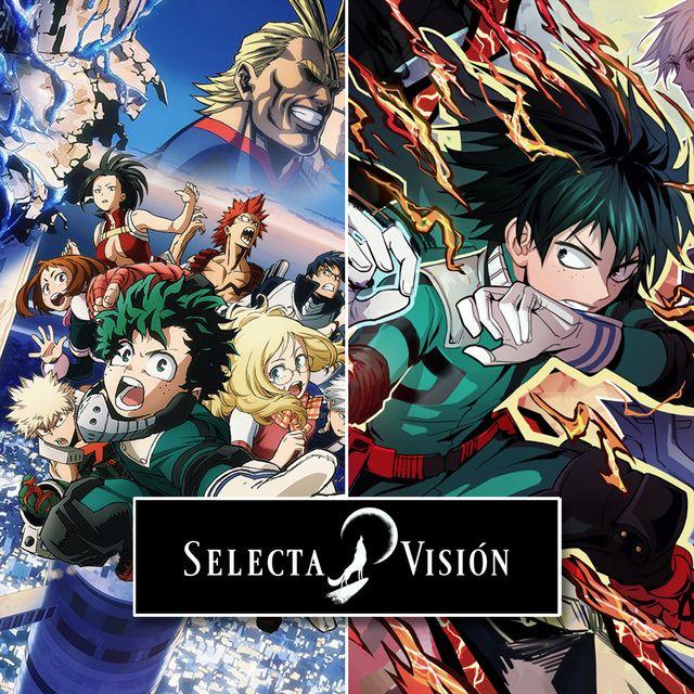 estrenos series 2020 my heroe academy selecta vision