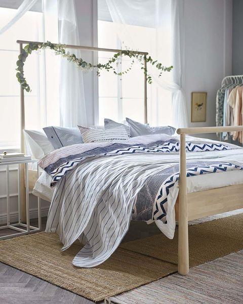 Dormitorio: ropa de cama de IKEA