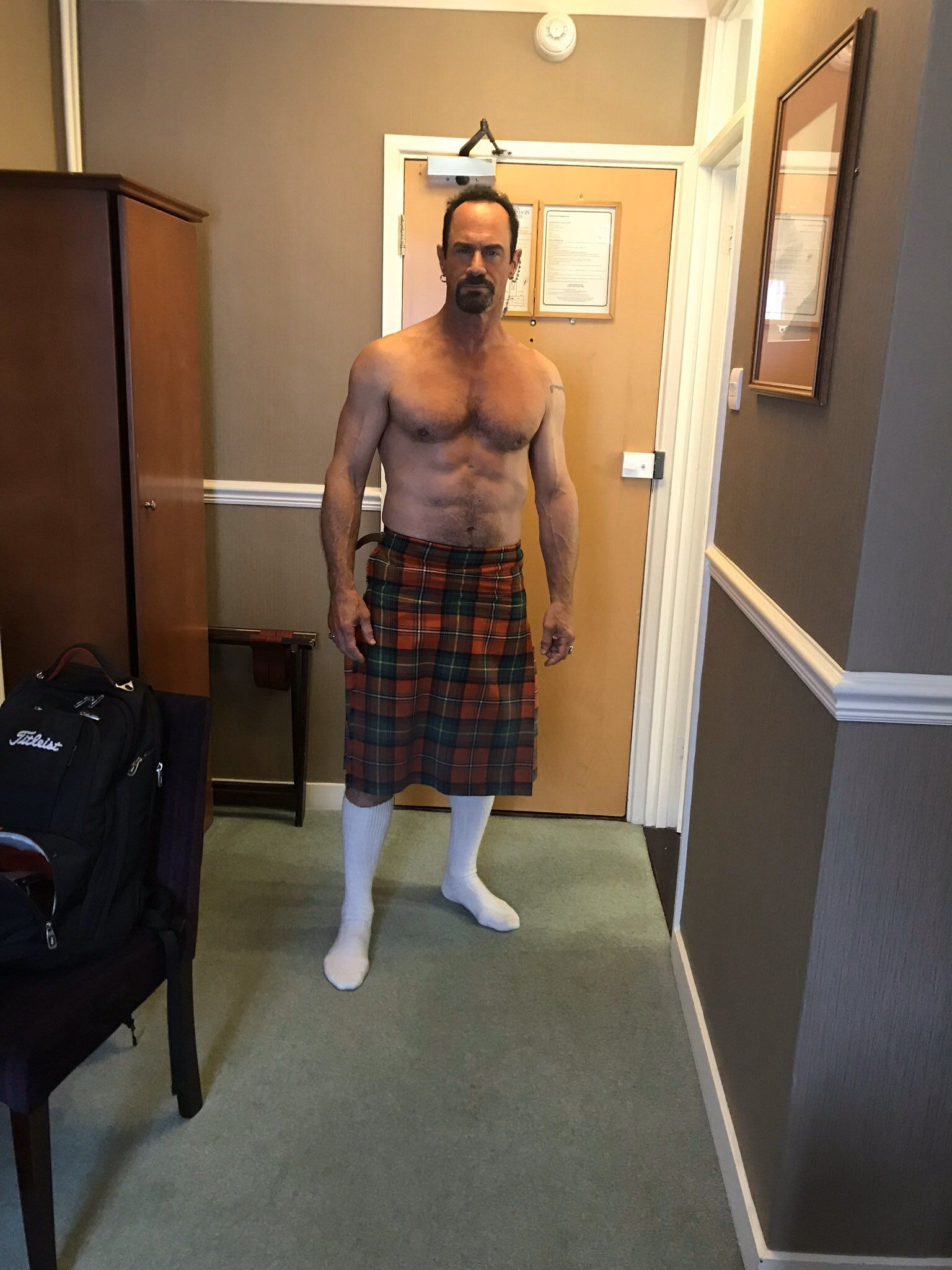 Law & Order' Star Christopher Meloni Just Showed Off Abs at 58