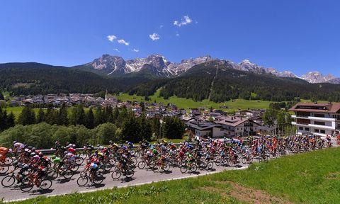 Giro d'Italia 2018, etappeschema