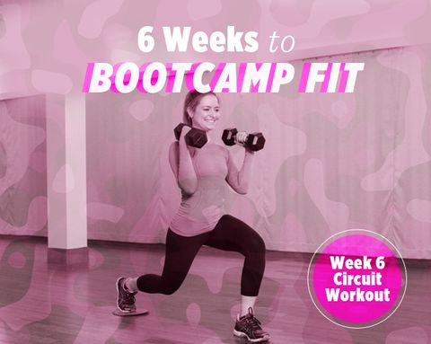 6 Weeks to Bootcamp Fit: Week 6 Strength Circuit Workout