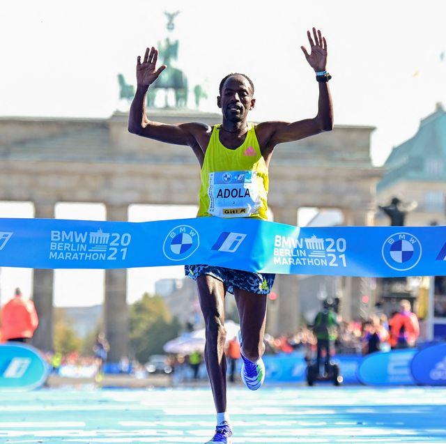Guye Adola and Gotytom Gebreslase Win the 2021 Berlin Marathon