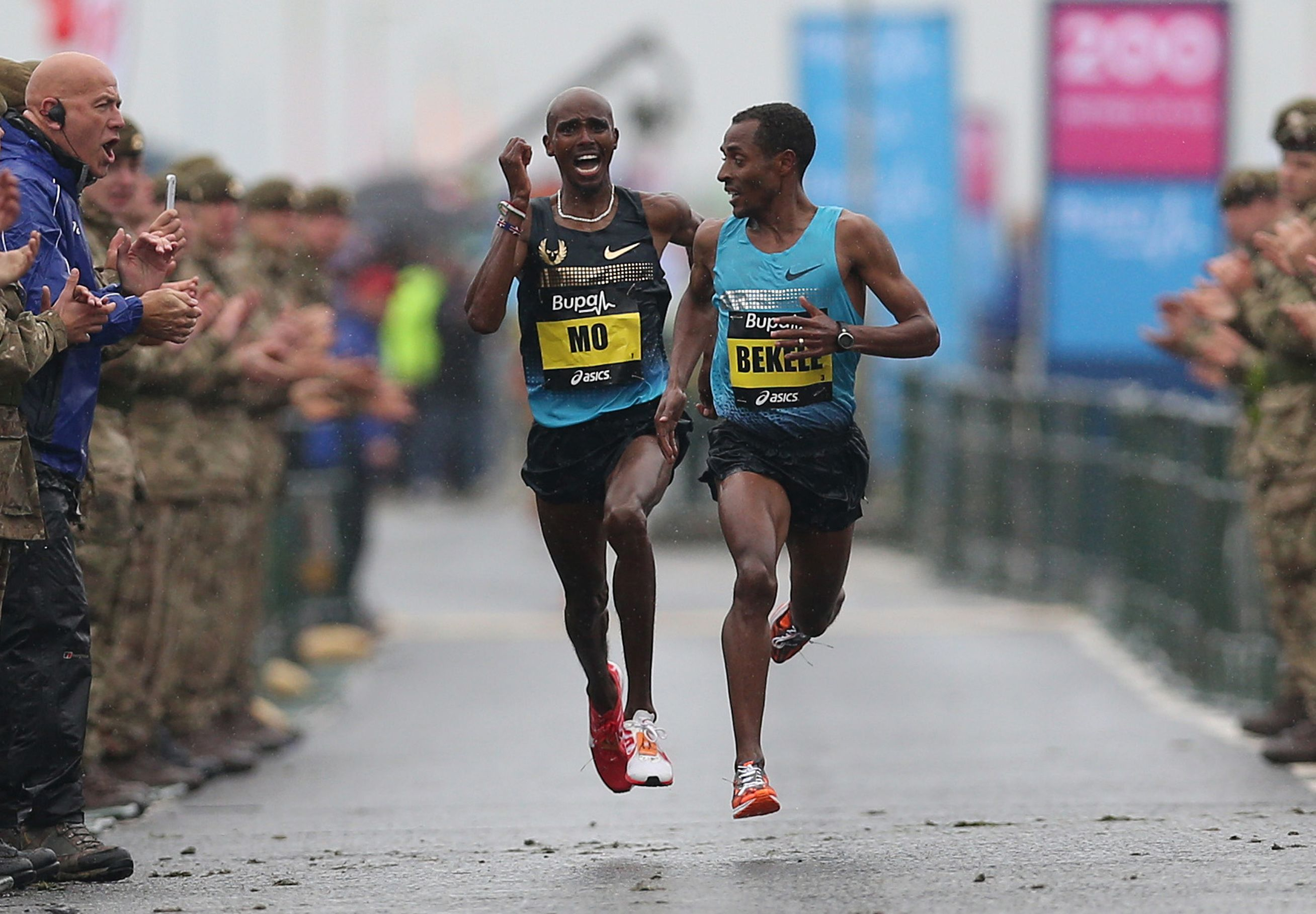 Farah to take on Bekele in the Vitality Big Half this March