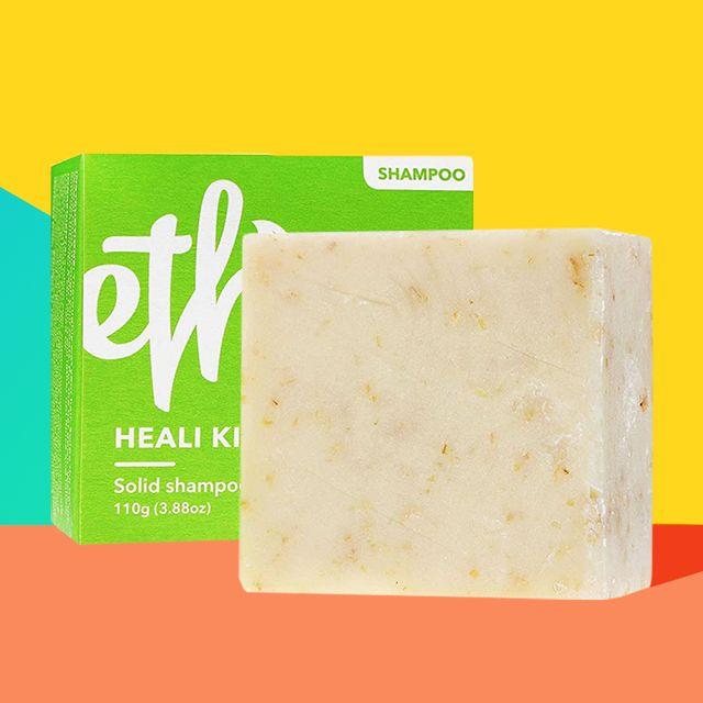 little lifesaver ethique kiwi shampoo bar