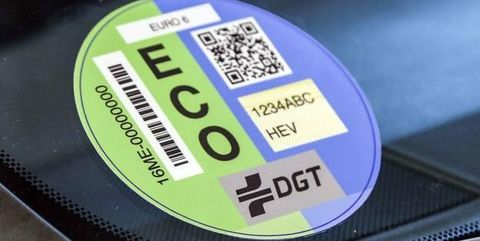 etiquetas medioambientales dgt