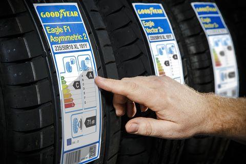 nuevo etiquetado de los neumáticos