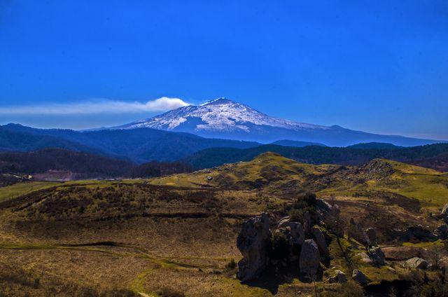 etna volcano panorama