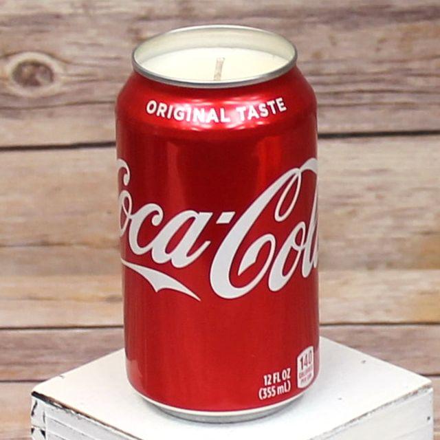 etsy coca cola soda candle