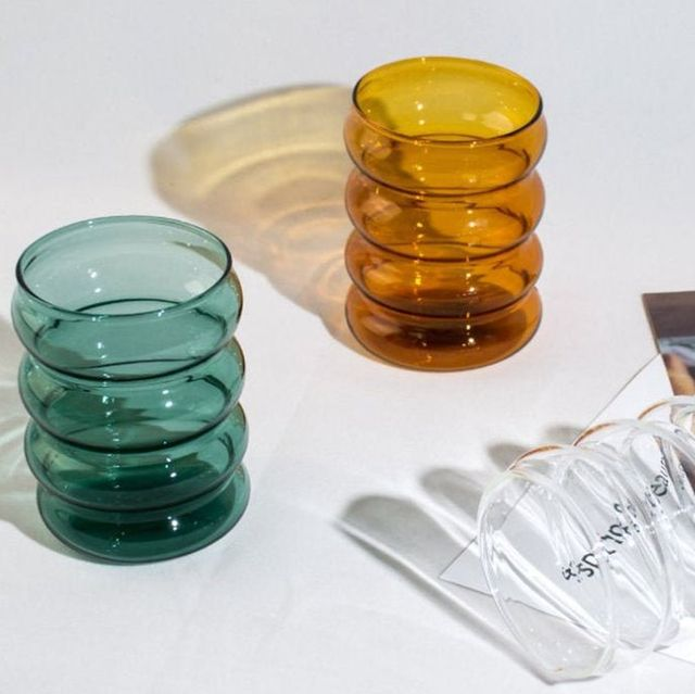 best coloured glassware to buy uk