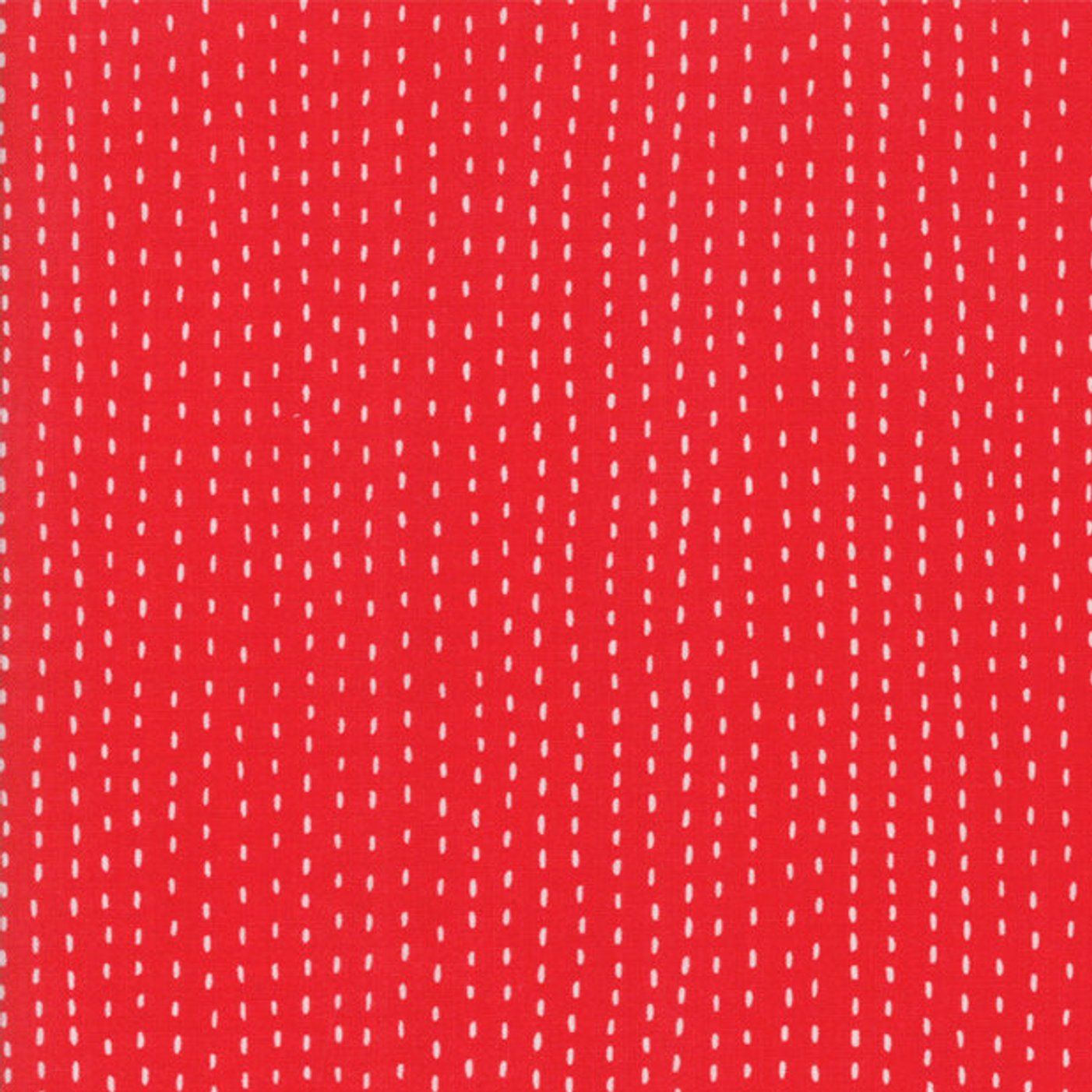 etsy red white stitch fabric