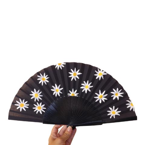 etsy fan met bloemen