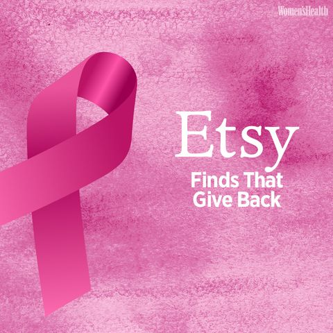The Best Etsy Products That Give Back to Breast Cancer-Related Charities