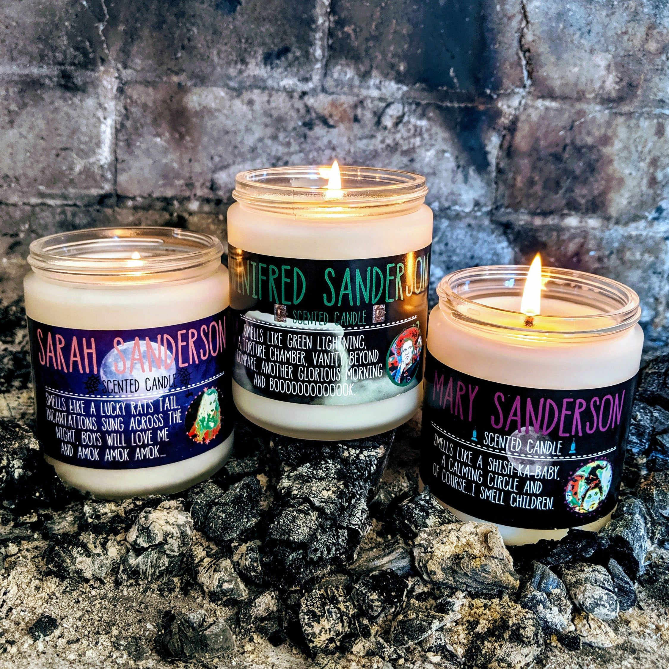 These Hocus Pocus Candles Will Have You Repping Your Favorite Sanderson Sister