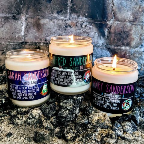 """Etsy """"Hocus Pocus"""" Candles Inspired After the Sanderson Sisters"""