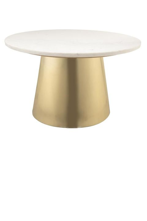 Table, Furniture, Lamp, Beige, Brass, Metal, Coffee table, Light fixture,