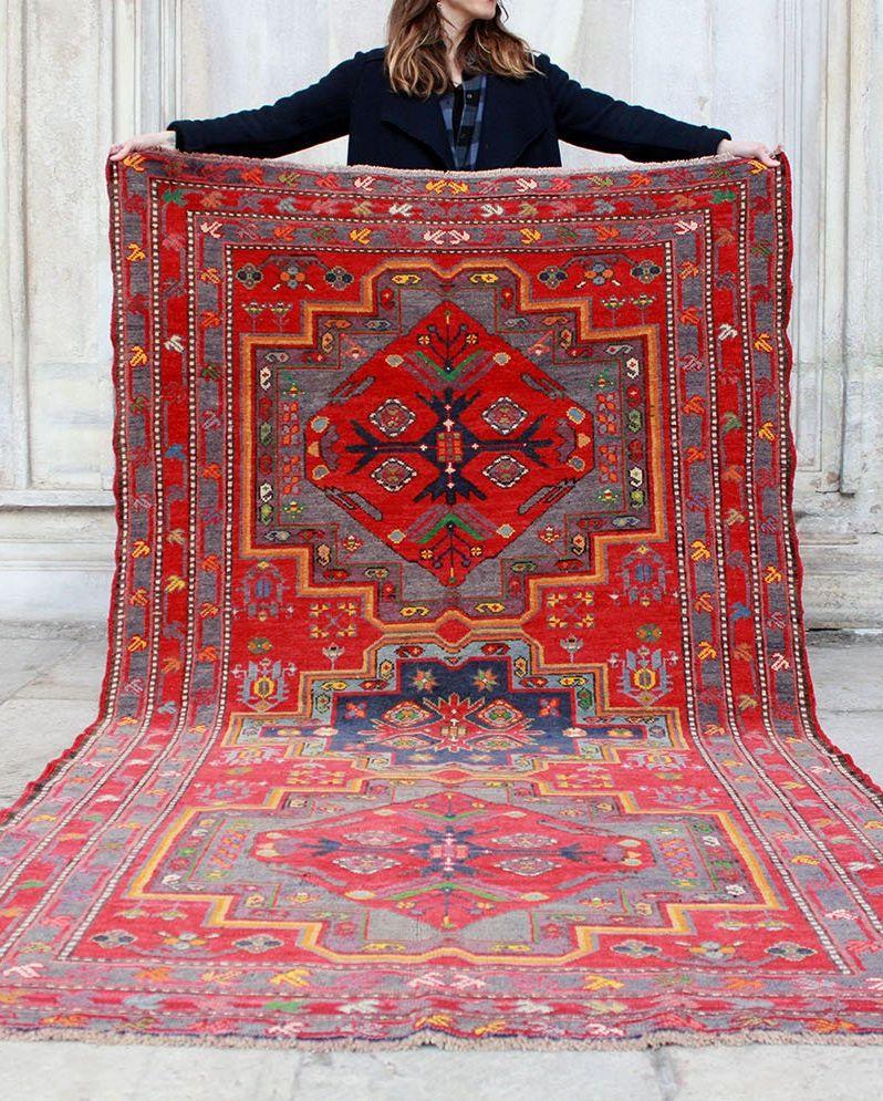 vintage rug on etsy