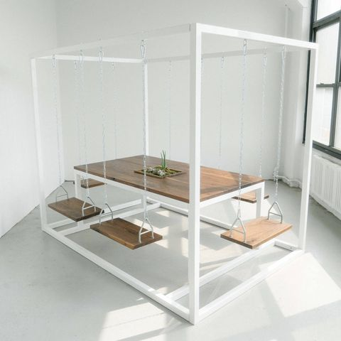 six-seat swing table from etsy