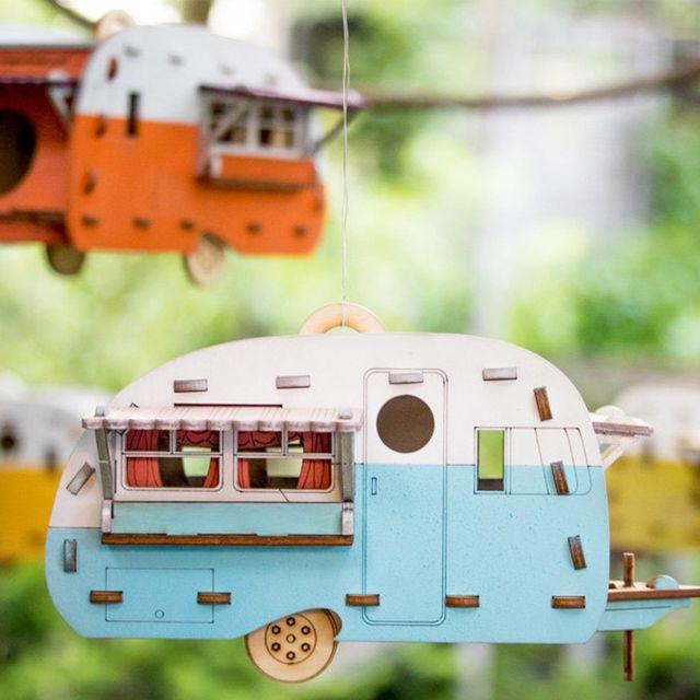 etsy vintage camper bird house