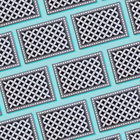 Pattern, Turquoise, Line, Design, Pattern, Mesh, Textile, Metal,