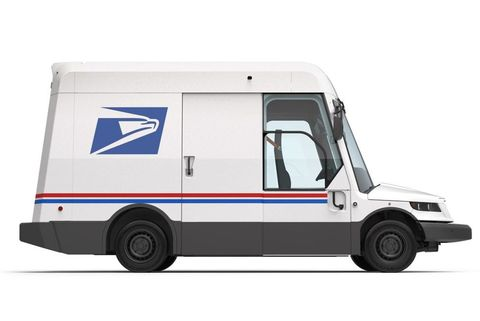 new postal truck
