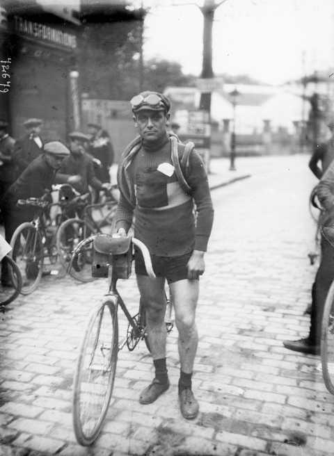 Eugene Christophe ( 1885-1970 ), French racing cyc