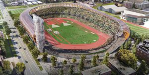 Hayward Field, Eugene, Oregon, Mundial de atletismo 2021, estadio atletismo