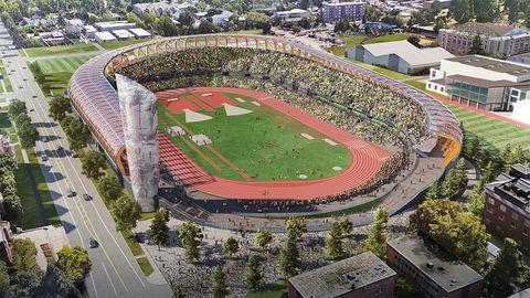Hayward Field, Eugene, Oregon, Mundial de atletismo 2021, estadio atletismo